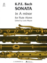 Carl Philipp Emanuel Bach - Sonata A minor - Solo flute - Sheet Music - di-arezzo.co.uk