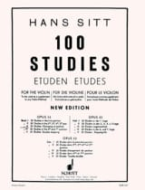 Hans Sitt - 100 Etüden op. 32 - Book 3 - Sheet Music - di-arezzo.co.uk