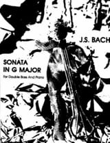 Sonata In G Major BWV 1027 BACH Partition laflutedepan.com