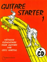 Cees Hartog - Guitar Starter Volume 1 - Partition - di-arezzo.fr