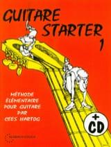Guitar Starter Volume 1 Cees Hartog Partition laflutedepan.com