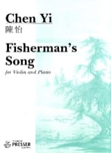 Fisherman's song Chen Yi Partition Violon - laflutedepan.com