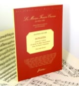 Sonates 2ème Livre -Fac simile Jean-Marie Leclair laflutedepan.com