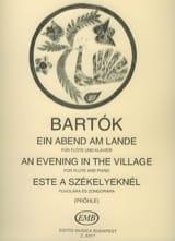 BARTOK - Ein Abend am Lande - Partitura - di-arezzo.es