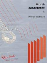 Multi-caractères Patrice Couineau Partition Guitare - laflutedepan.com
