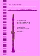 Sicilienne Gabriel Fauré Partition Trios - laflutedepan.com