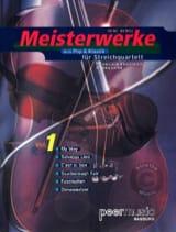 Meisterwerke Fur Streichquartett Volume 1 René Mense laflutedepan.com
