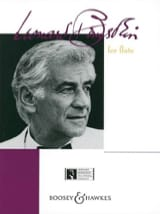Bernstein for flute and piano Leonard Bernstein laflutedepan.com