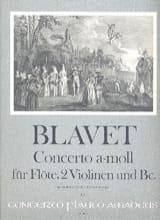 Michel Blavet - Concerto a-moll f. Flöte - Flöte Klavier - Sheet Music - di-arezzo.co.uk