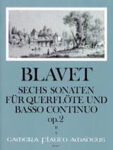 Michel Blavet - 6 Sonaten op. 2 Bd. 2 - Flöte und Bc - Partition - di-arezzo.fr