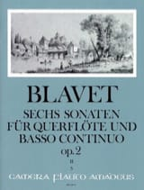 Michel Blavet - 6 Sonaten op. 2 Bd. 2 - Flute and Bc - Sheet Music - di-arezzo.co.uk