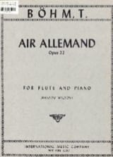 Theobald Boehm - German Air op. 22 - Sheet Music - di-arezzo.com