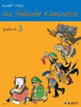 Rudolf Mauz - Die fröhliche Klarinette - Spielbuch 3 - Partitura - di-arezzo.es