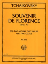 TCHAIKOVSKY - Souvenir of Florence op. 70 - Parts - Sheet Music - di-arezzo.co.uk
