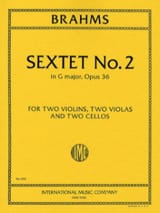 BRAHMS - Sextet n ° 2 in G major op. 36 - Parts - Sheet Music - di-arezzo.com