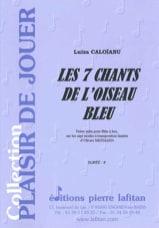 Les 7 Chants de L'oiseau Bleu Luiza Caloïanu laflutedepan.com