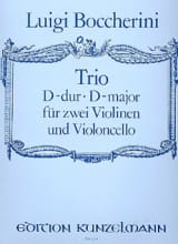 BOCCHERINI - Trio D-Dur - Violinen Violoncello 2 - Partitur Stimmen - Sheet Music - di-arezzo.co.uk