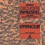 Becker Rolf / Mandalka Rudolf - Orchester Probespiel CD - Violoncello - Sheet Music - di-arezzo.com