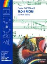 Odette Gartenlaub - Trois Récits - Partition - di-arezzo.fr