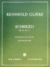 Reinhold Glière - Scherzo op. 32 n ° 2 - Sheet Music - di-arezzo.co.uk