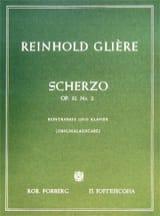 Scherzo op. 32 n° 2 - Reinhold Glière - Partition - laflutedepan.com