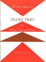 Frank Bridge - Piano trio n° 2 – Parts - Partition - di-arezzo.fr