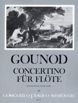 Concertino pour Flûte - Charles Gounod - Partition - laflutedepan.com