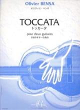 Toccata pour 2 guitares - Olivier Bensa - Partition - laflutedepan.com
