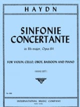 Joseph Haydn - Sinfonie concertante Bb major op. 84 - Partition - di-arezzo.fr