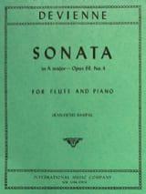 Sonata in A major op. 68 n° 4 - Flute piano laflutedepan.com