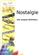 Jacques Devogel - Nostalgie - Partition - di-arezzo.fr