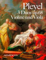 Ignaz Pleyel - 3 Duos op. 68 - Violine und Viola - Partition - di-arezzo.fr