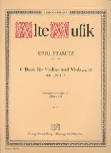 Carl Stamitz - 6 Duos for Violine and Viola op. 18 - Heft 1 No 1-3 - Sheet Music - di-arezzo.co.uk