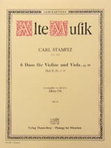 Carl Stamitz - 6 Duos for Violine and Viola op. 18 - Heft 2 No 4-6 - Sheet Music - di-arezzo.co.uk