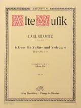 Carl Stamitz - 6 dúos para violín y viola op. 18 - Heft 2 No 4-6 - Partitura - di-arezzo.es