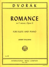 DVORAK - Romance in F major op. 11 - Flute piano - Sheet Music - di-arezzo.co.uk