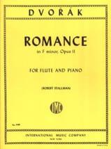 Antonin Dvorak - Romance in F major op. 11 – Flute piano - Partition - di-arezzo.fr