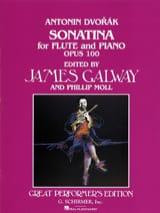 Sonatina in G op. 100 - Flute piano Antonin Dvorak laflutedepan.com