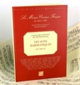 Jean-Joseph (Cassanea de) Mondonville - Les Sons Harmoniques - Oeuvre 4 - Partition - di-arezzo.fr
