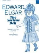 The serious doll - Flûte et Piano - Edward Elgar - laflutedepan.com