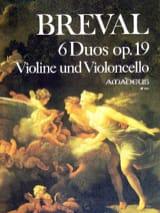 6 Duos op. 19 – Violine und Violoncello - laflutedepan.com