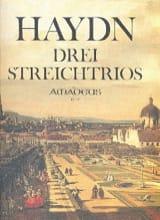 HAYDN - 3 Streichtrios op. 53 -Stimmen - Partition - di-arezzo.fr