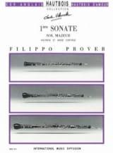 1ère Sonate en sol majeur - Hautbois et basse continue laflutedepan.com