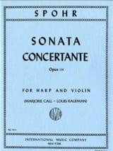 Louis Spohr - Sonata concertante op. 114 - Partition - di-arezzo.fr