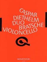Duo - Bratsche Violoncello Gaspar Diethelm Partition laflutedepan.com