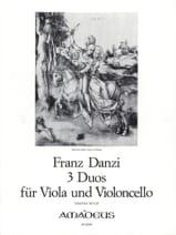 Franz Danzi - 3 Duos für Viola und Violoncello – Buch 1 - Partition - di-arezzo.fr