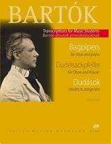 Dudelsackpfeifer - Oboe Klavier BARTOK Partition laflutedepan.com