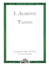 Isaac Albeniz - Tango - Oboe piano - Partition - di-arezzo.fr