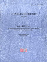 Charles François Dieupart - Suite n° 2 fa maggiore - Partition - di-arezzo.fr