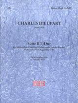 Suite n° 2 fa maggiore Charles François Dieupart laflutedepan.com